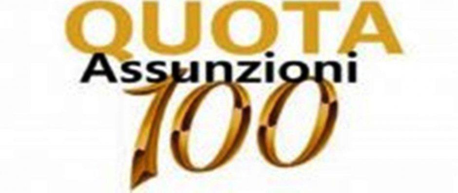 Reclutamento docenti posti quota 100 per l'anno a.s. 2019/20